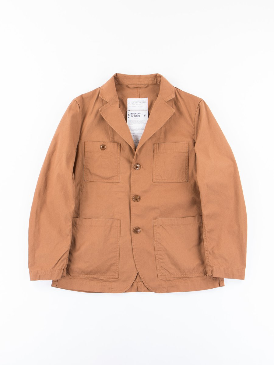 Terracotta Tricotine Follina Jacket