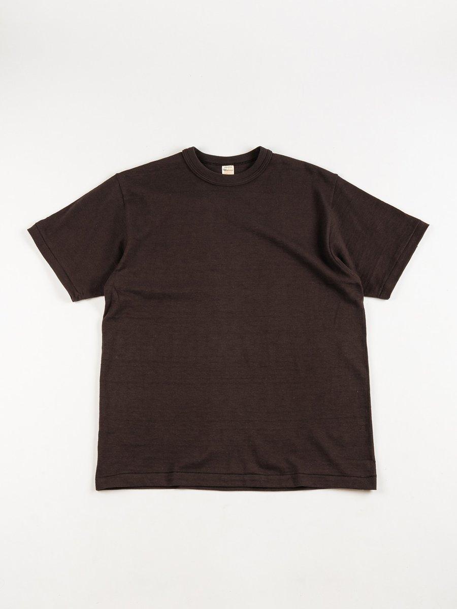 LOT 4601 PLAIN TEE BLACK (SUMIKURO)