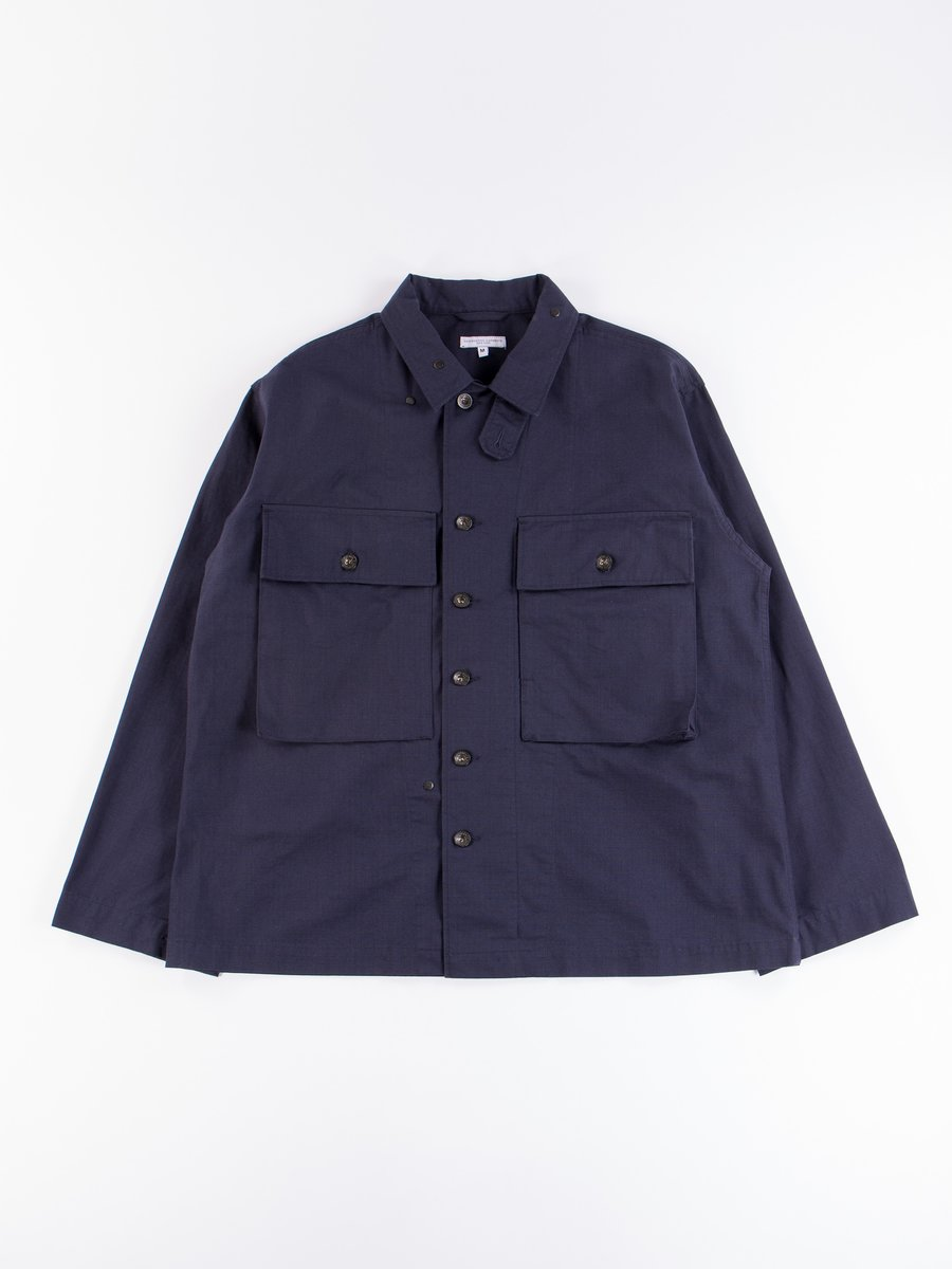 Dark Navy Cotton Ripstop M43/2 Shirt Jacket