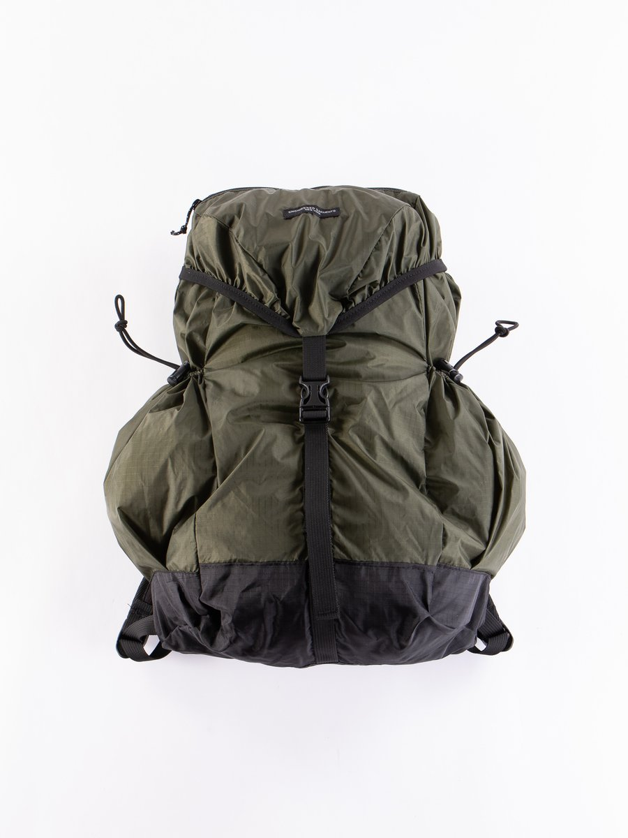 Olive Nylon Ripstop UL Backpack