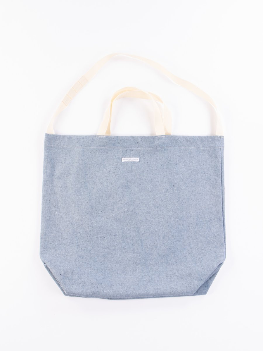 Blue Upcycled Denim Carry All Tote