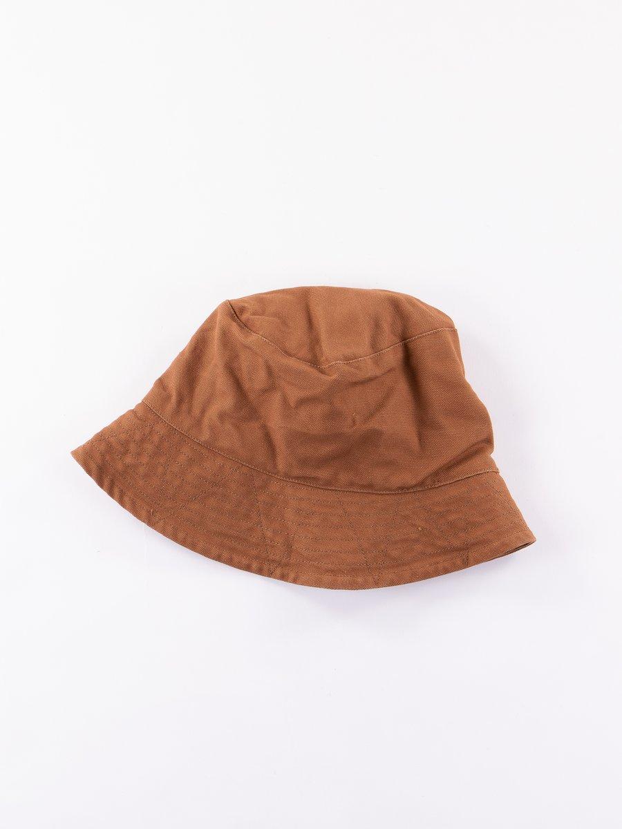 Brown 12oz Duck Canvas Bucket Hat
