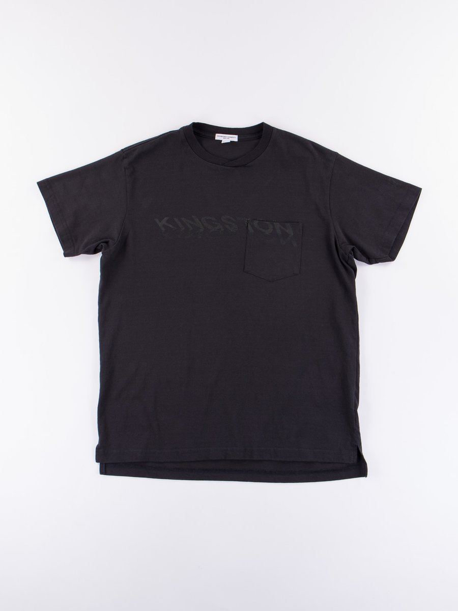 Dark Navy Kingston Printed T–Shirt