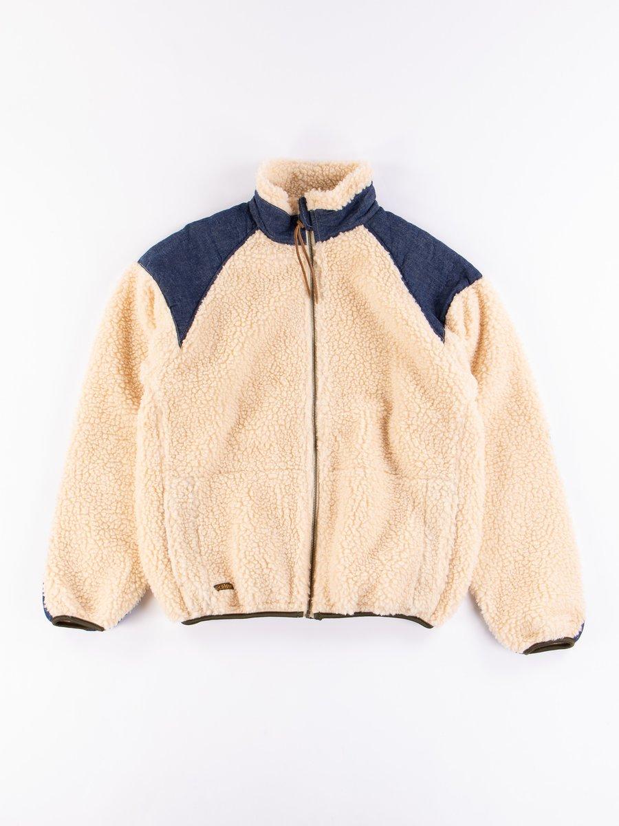 Ecru Fleece Jacket