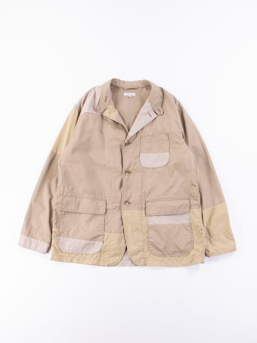 Khaki High Count Twill Loiter Jacket
