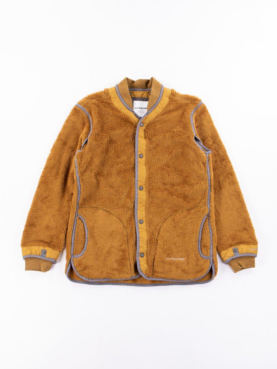 Yellow Lining Fleece Jacket