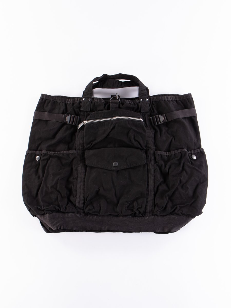 Black 2Way Crag Rucksack