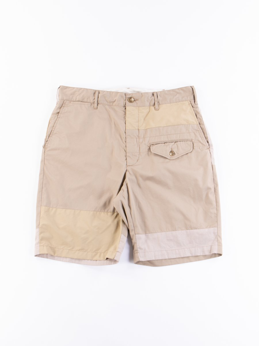 Khaki High Count Twill Ghurka Short