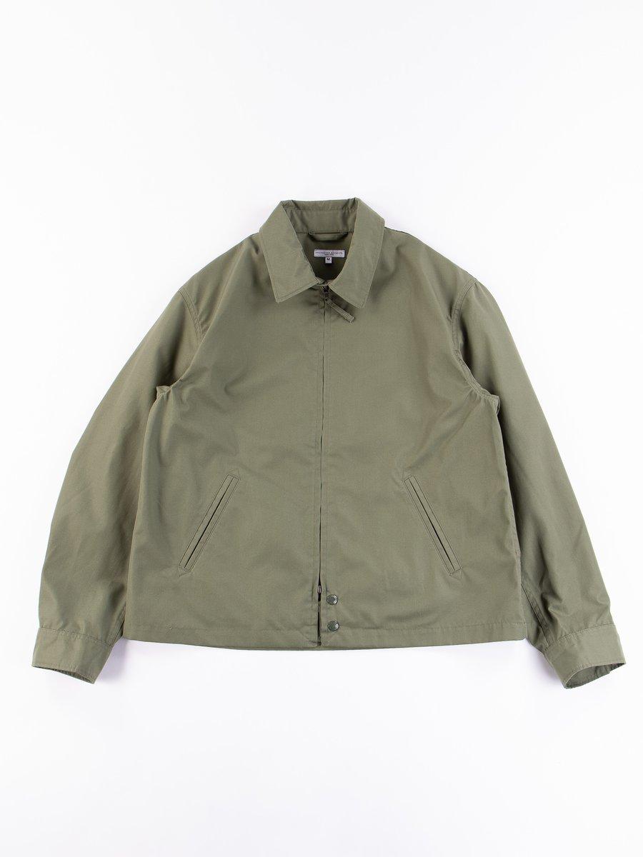 Olive PC Poplin Claigton Jacket