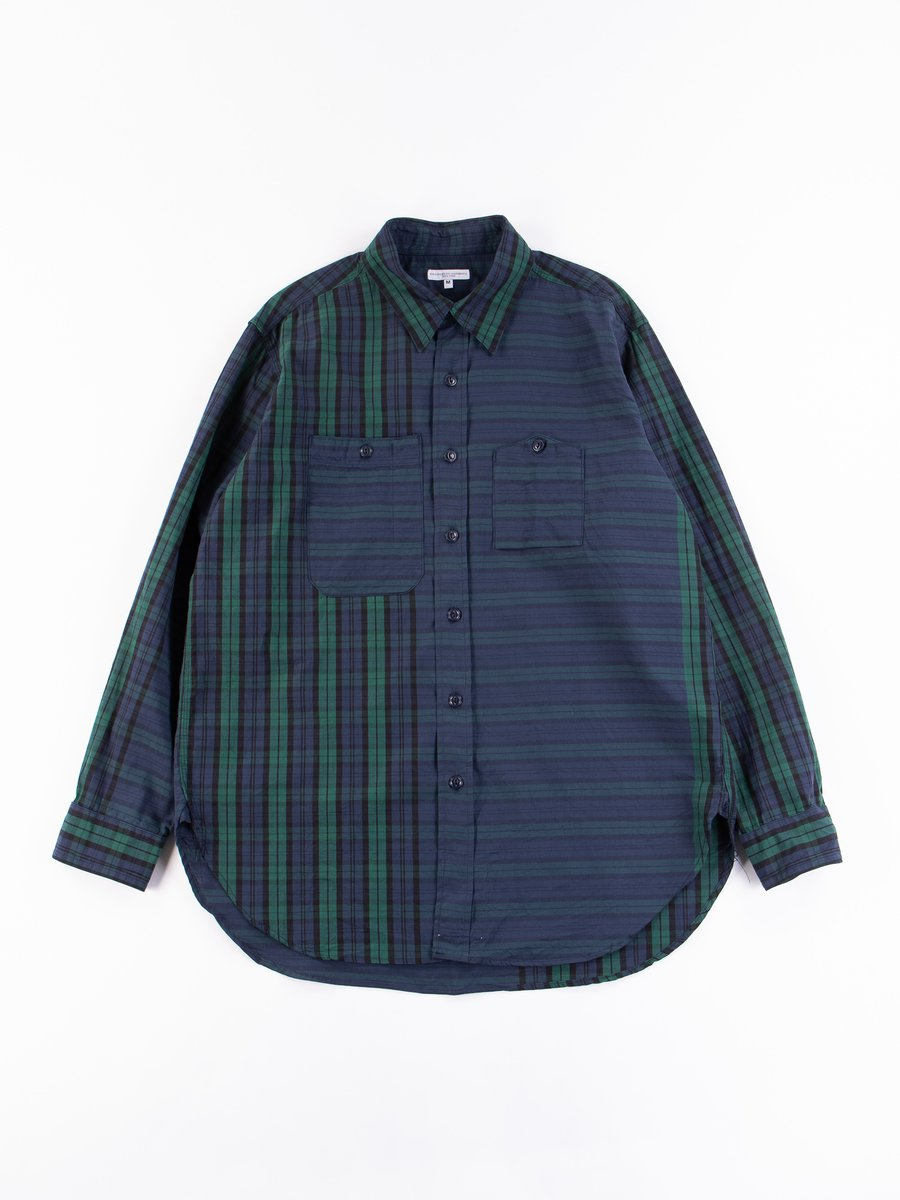 Blackwatch Big Repeat Madras Work Shirt