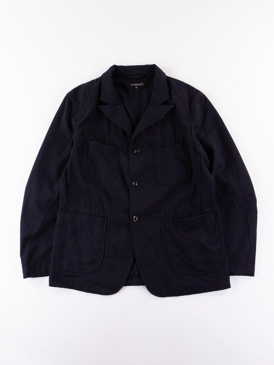 Dark Navy Uniform Serge Bedford Jacket