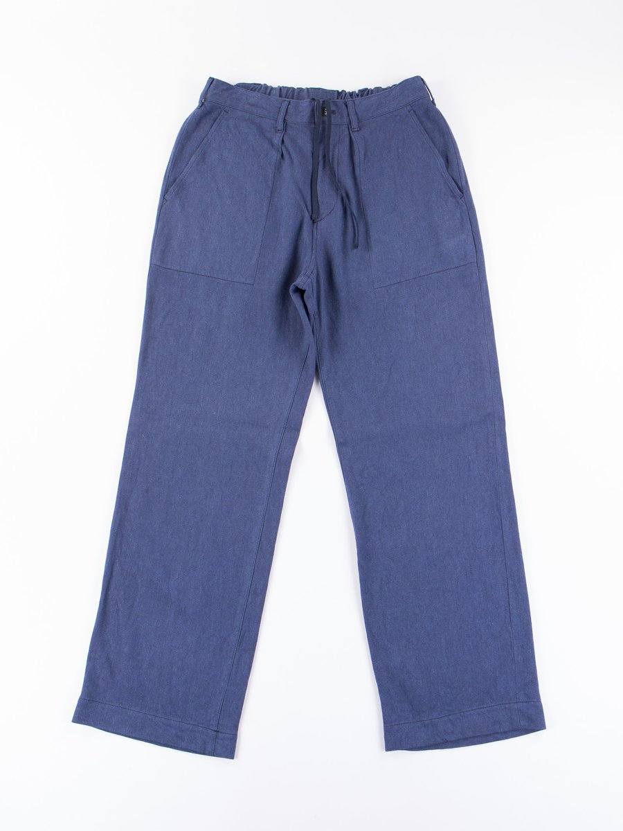 Blue Relaxed Fatigue Pant