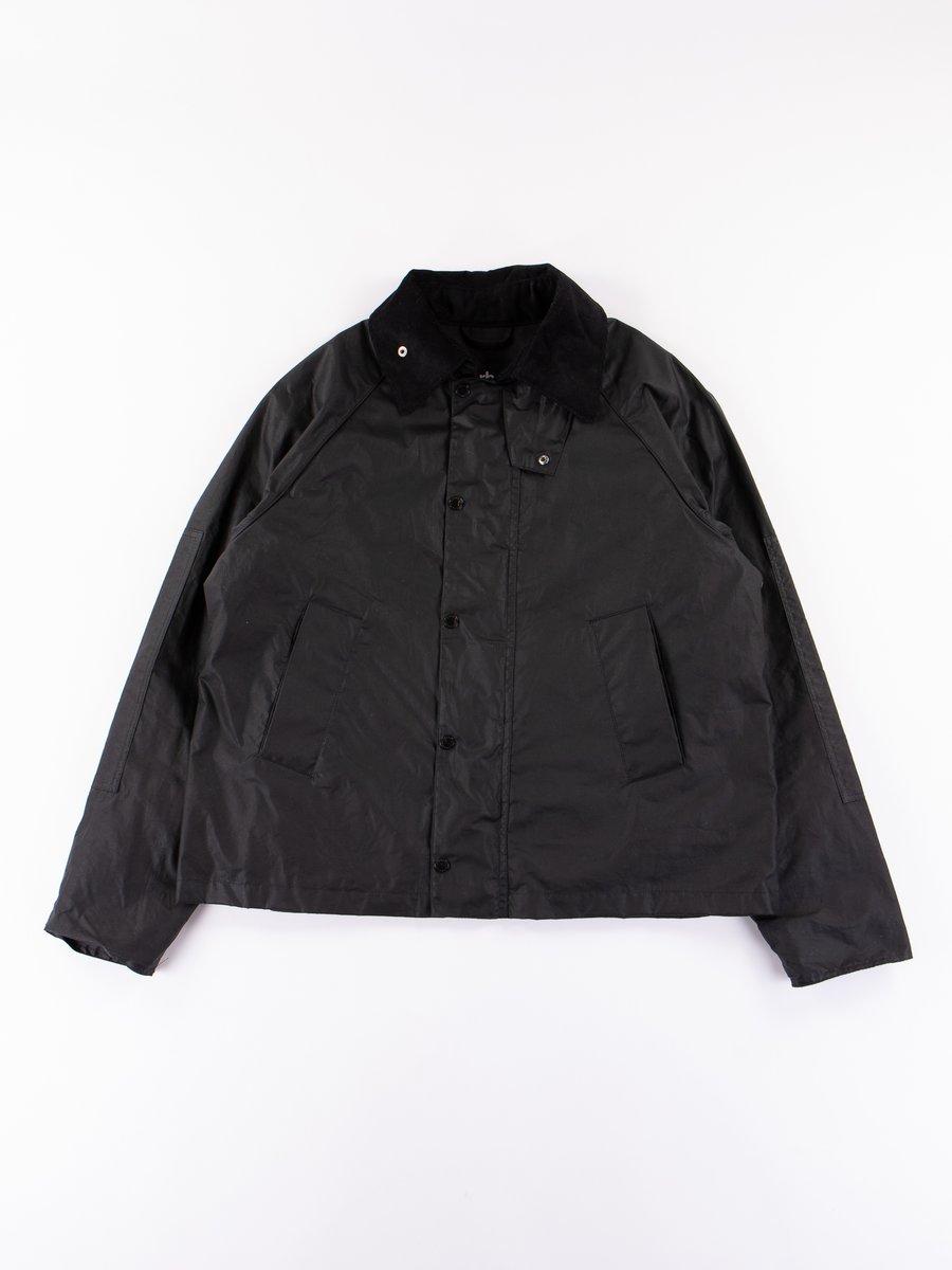 Black Graham Wax Jacket
