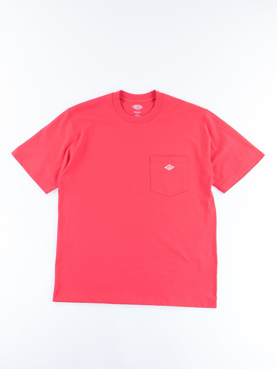 Red Jersey Cotton T–Shirt