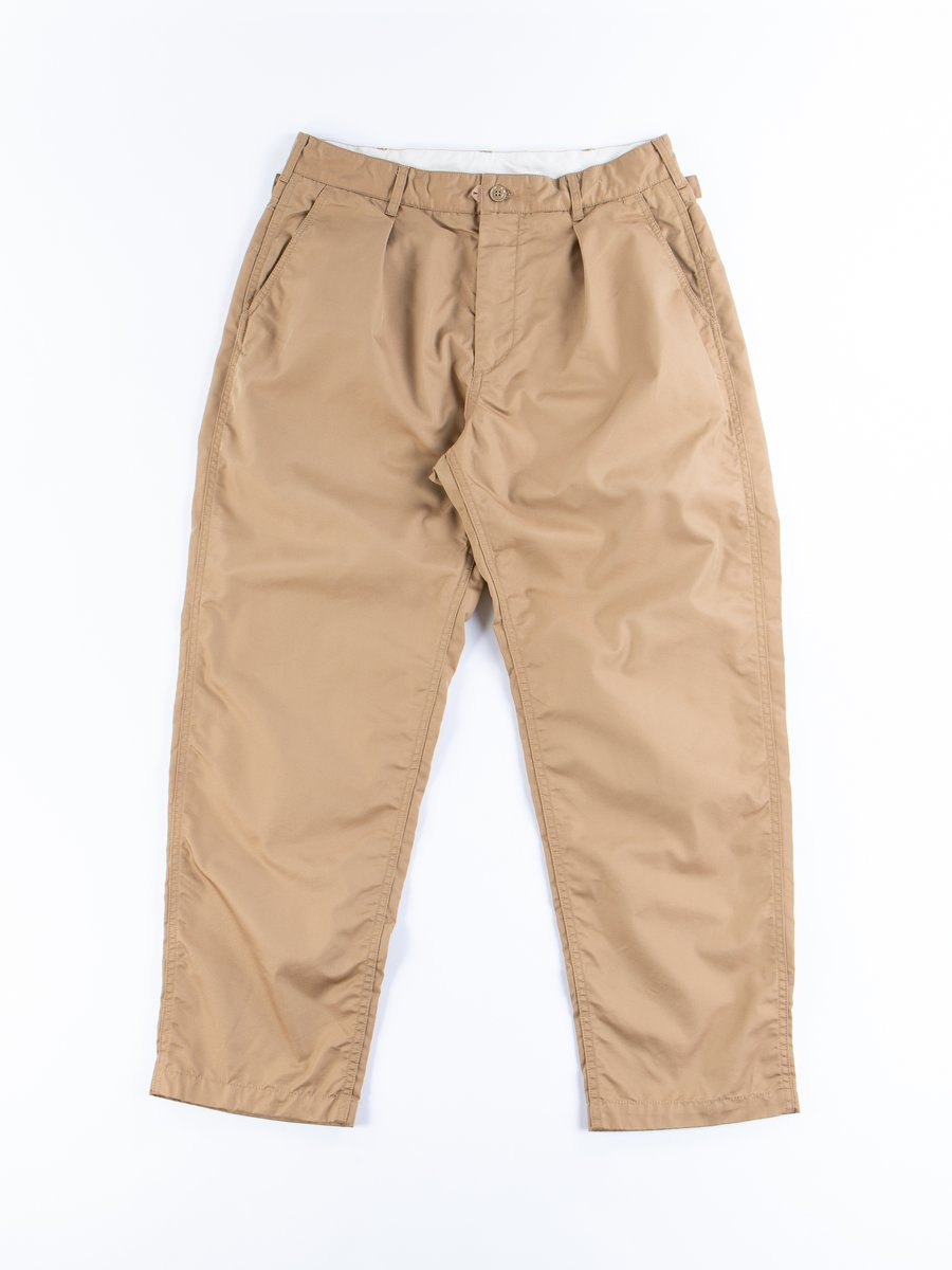 Orange PC Iridescent Twill Ground Pant
