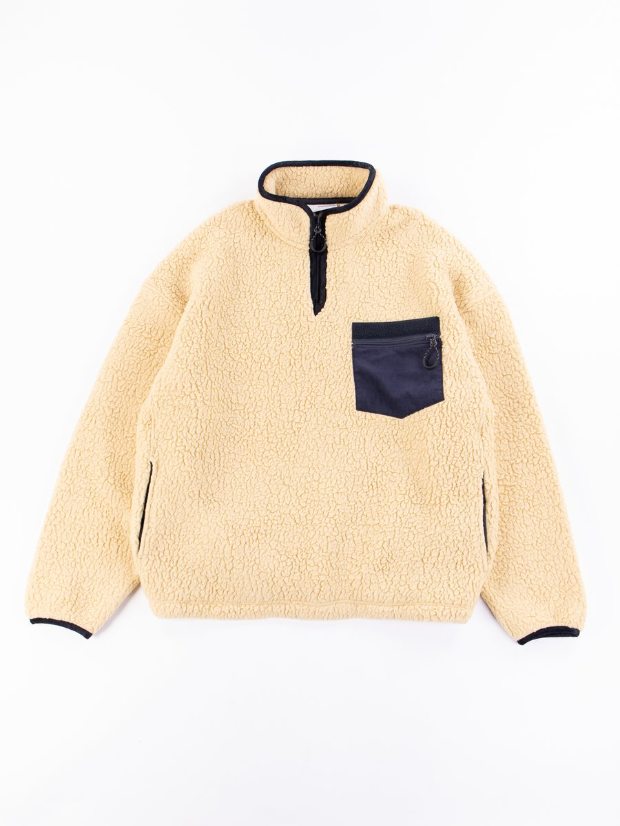 Natural Fleece Pullover
