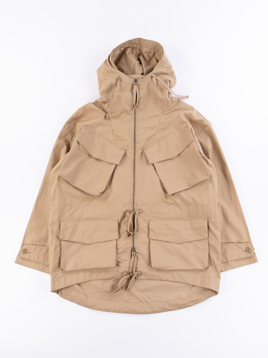 Khaki Oxford Vancloth Expedition Half Coat