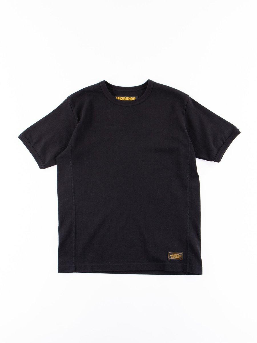 Black Meek Short Sleeve C–Crew T–Shirt
