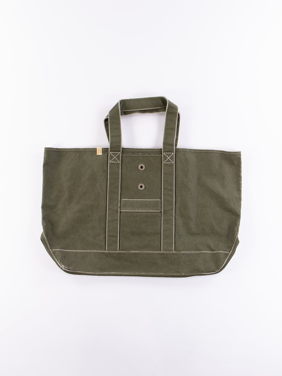 Olive Canvas Homer XL Bag