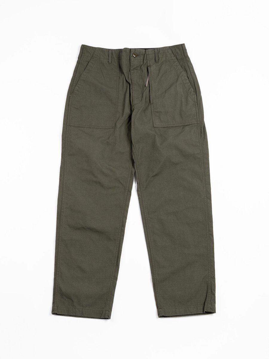 FATIGUE PANT OLIVE HEAVY WEIGHT COTTON RIPSTOP