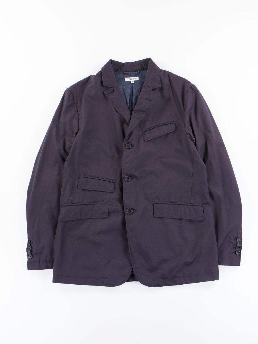 Dark Navy High Count Twill Andover Jacket