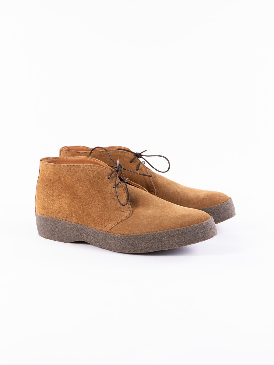 Indiana Tan Suede Chukka Boot