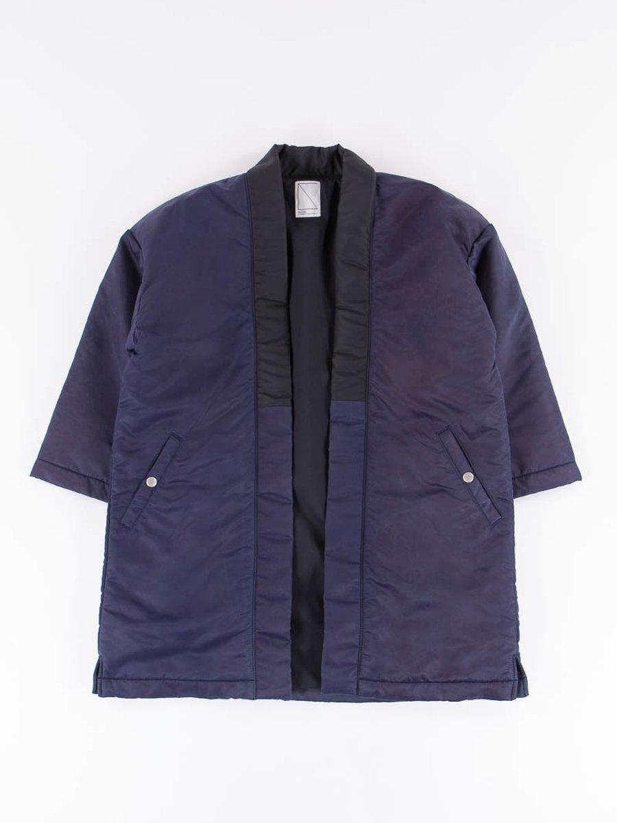 Dark Indigo Flight Haori Coat