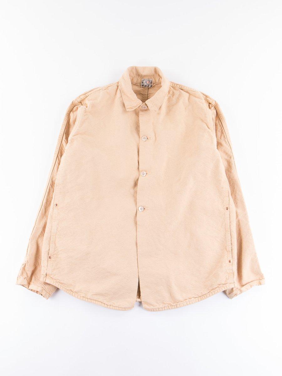 Fawn Longwood Dye Shoemaker's Canvas Double Front Butterfly Jacket