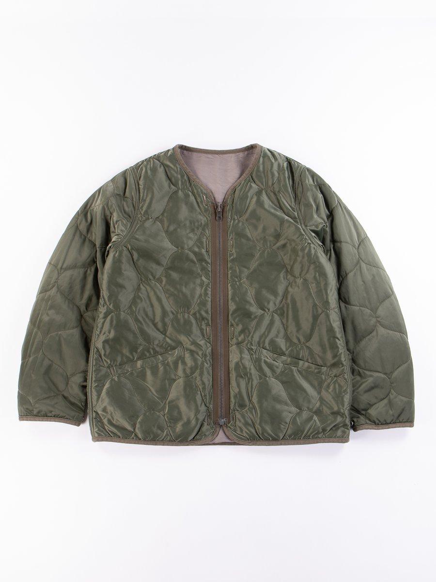 Green Iris Liner Jacket