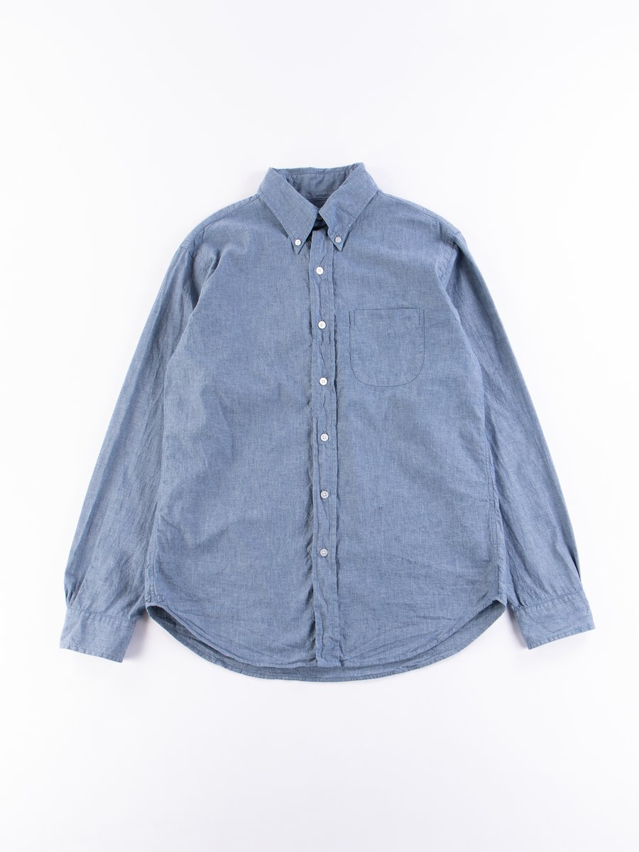Blue Chambray Campus BD Shirt