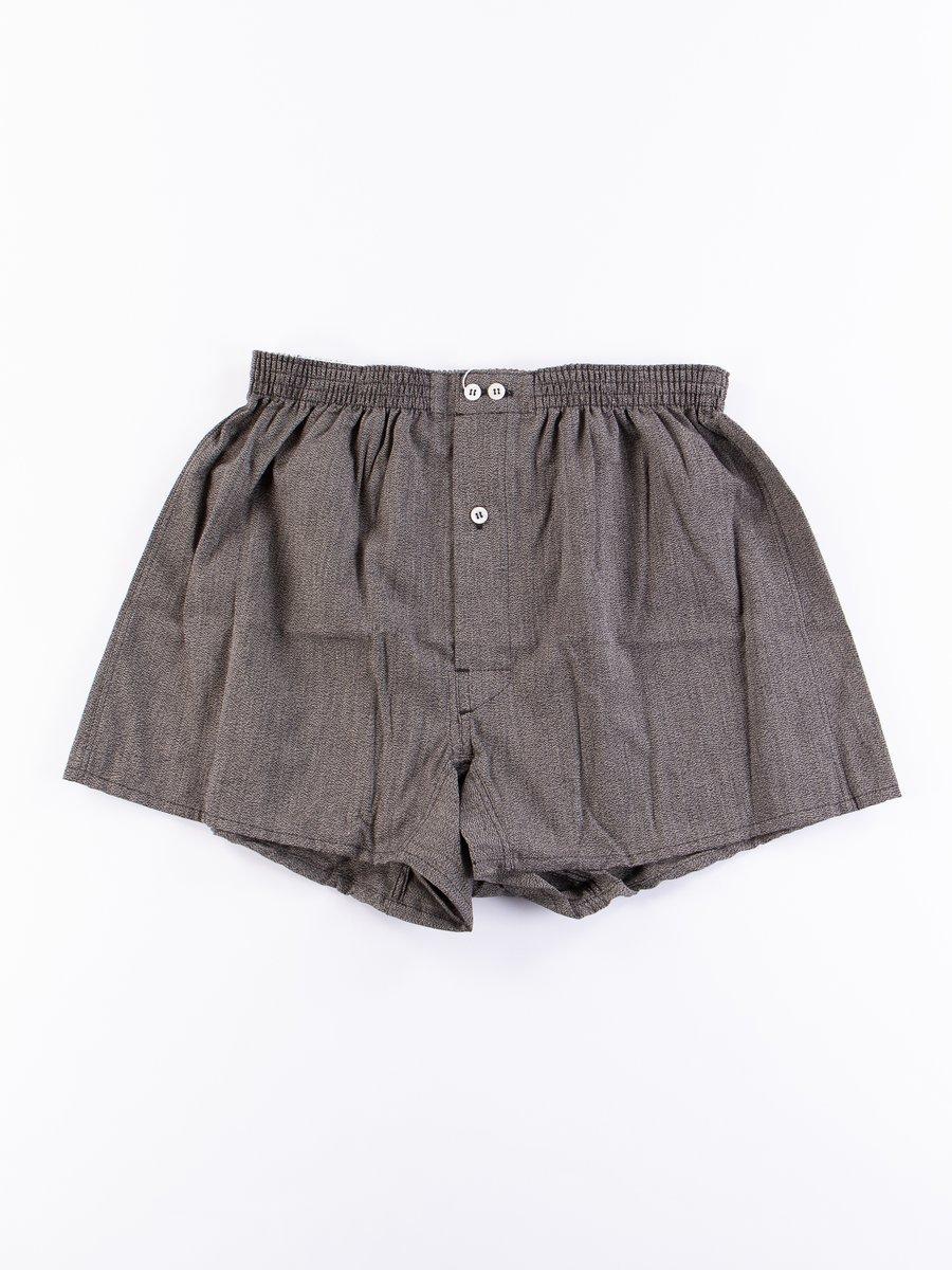Black Vintage Boxer Short