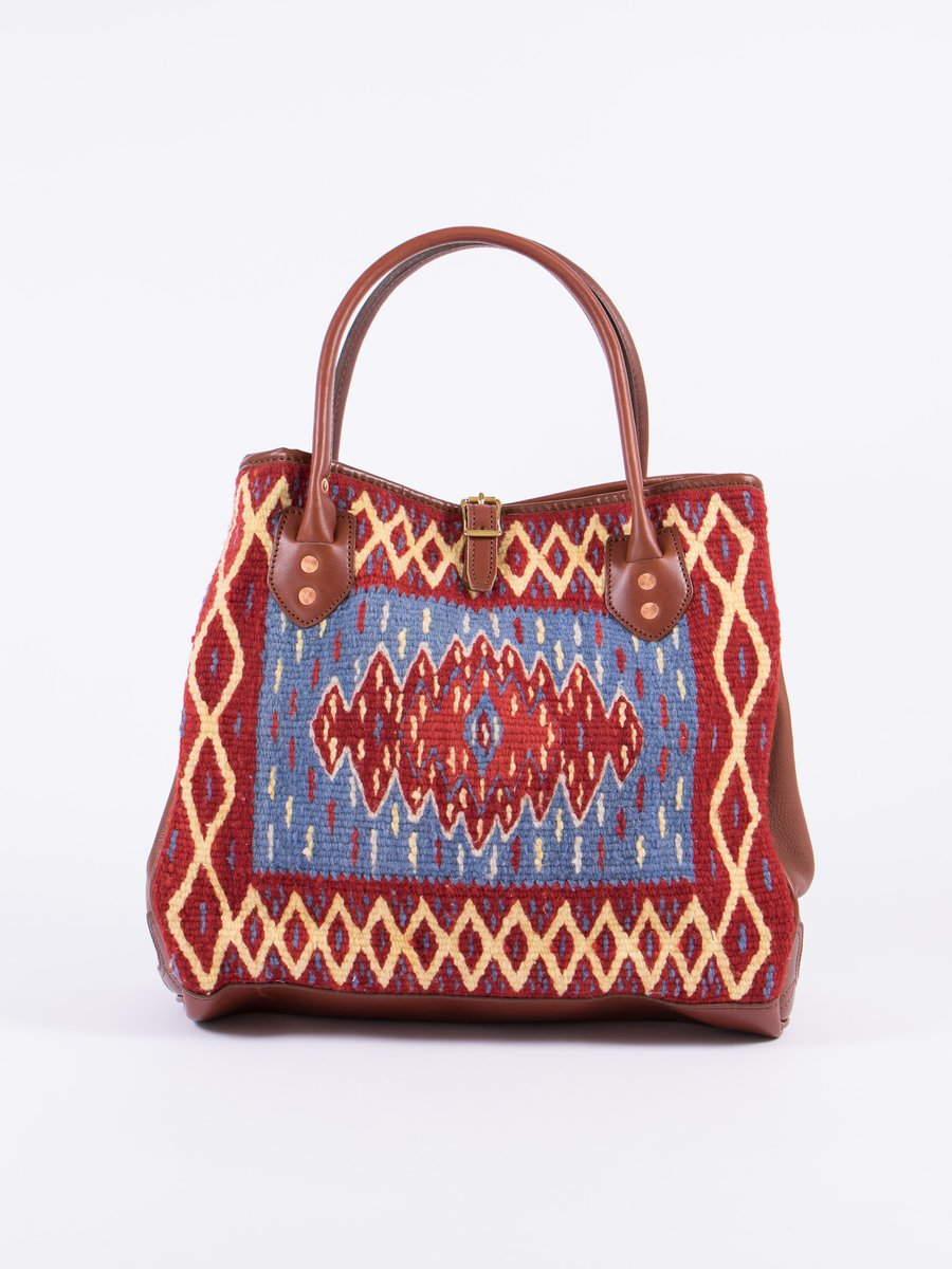 Saltillo Diamond Blanket Tote