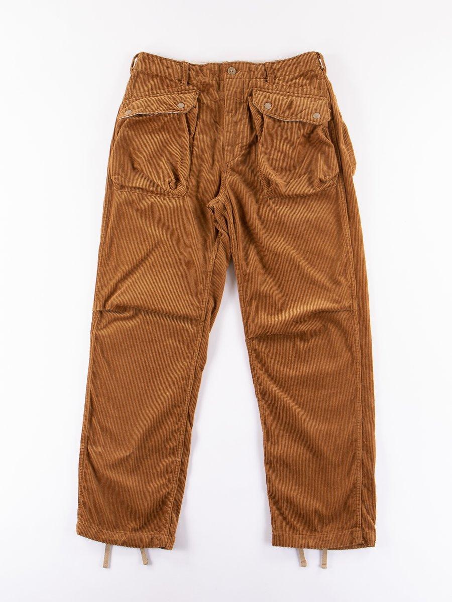 Chestnut 8W Corduroy Norwegian Pant