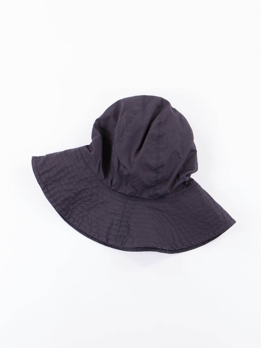 Dark Navy High Count Twill Dome Hat