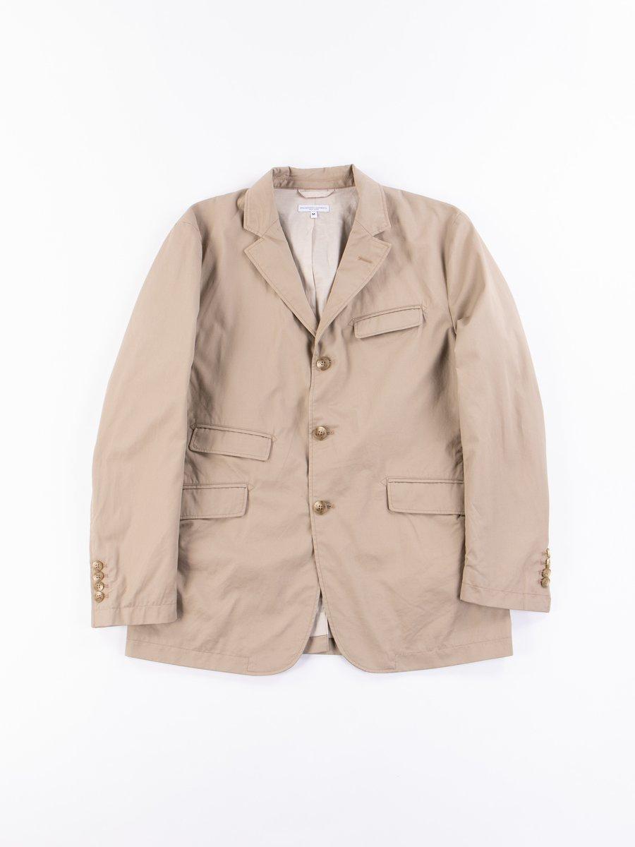 Khaki Highcount Twill Andover Jacket