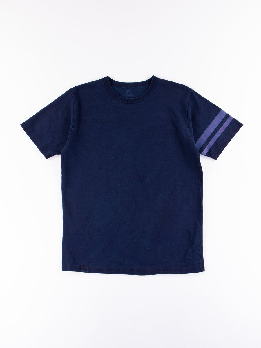 Indigo Dyed Zimbabwe Cotton GTB T–Shirt