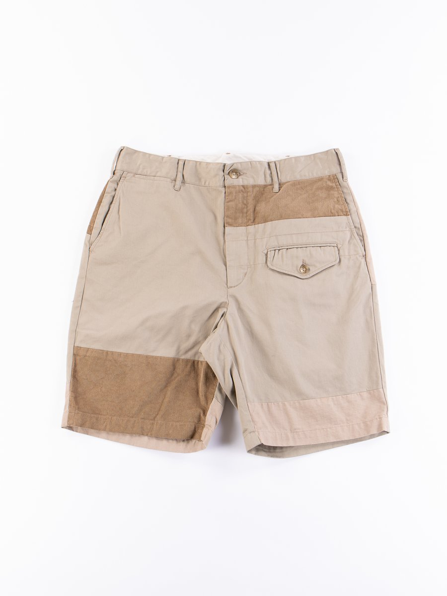 Khaki 6.5oz Flat Twill Ghurka Short