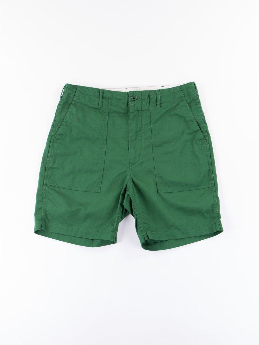 Green 7.5oz Twill Fatigue Short