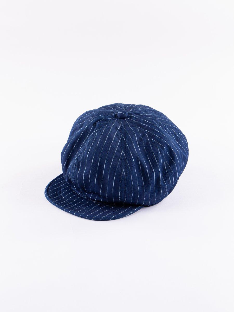 Indigo Wabash Casket Hat