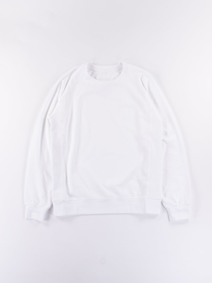 White Luxsic JV Crew Sweatshirt