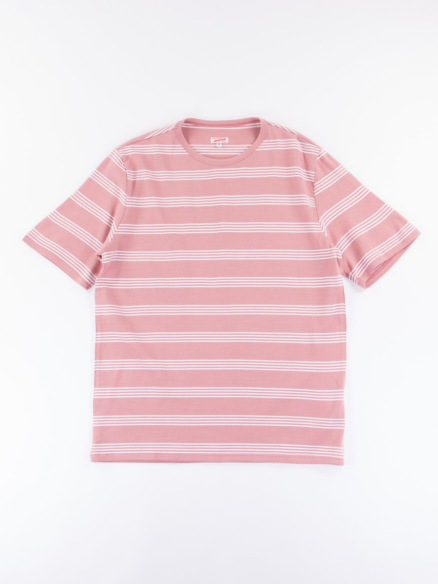 Pink/White Match Jersey T–Shirt