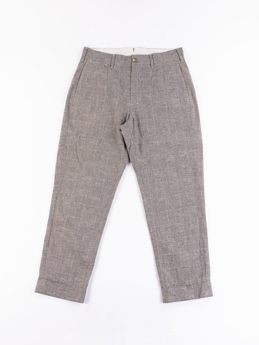 Grey CL Glen Plaid Andover Pant