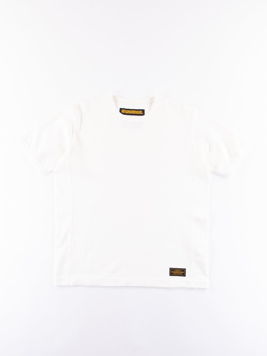 White Meek Short Sleeve C–Crew T–Shirt