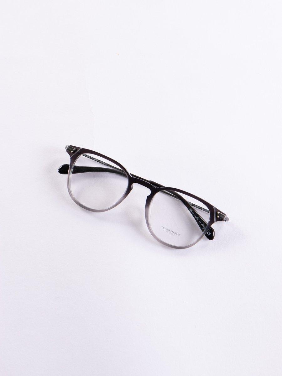 Black/Pewter Ennis Optical Frame