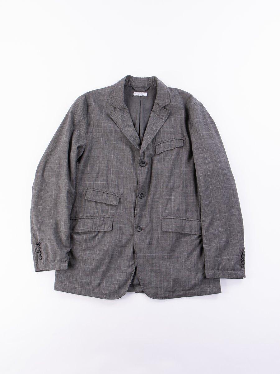 Grey Glen Plaid Tropical Wool Andover Jacket