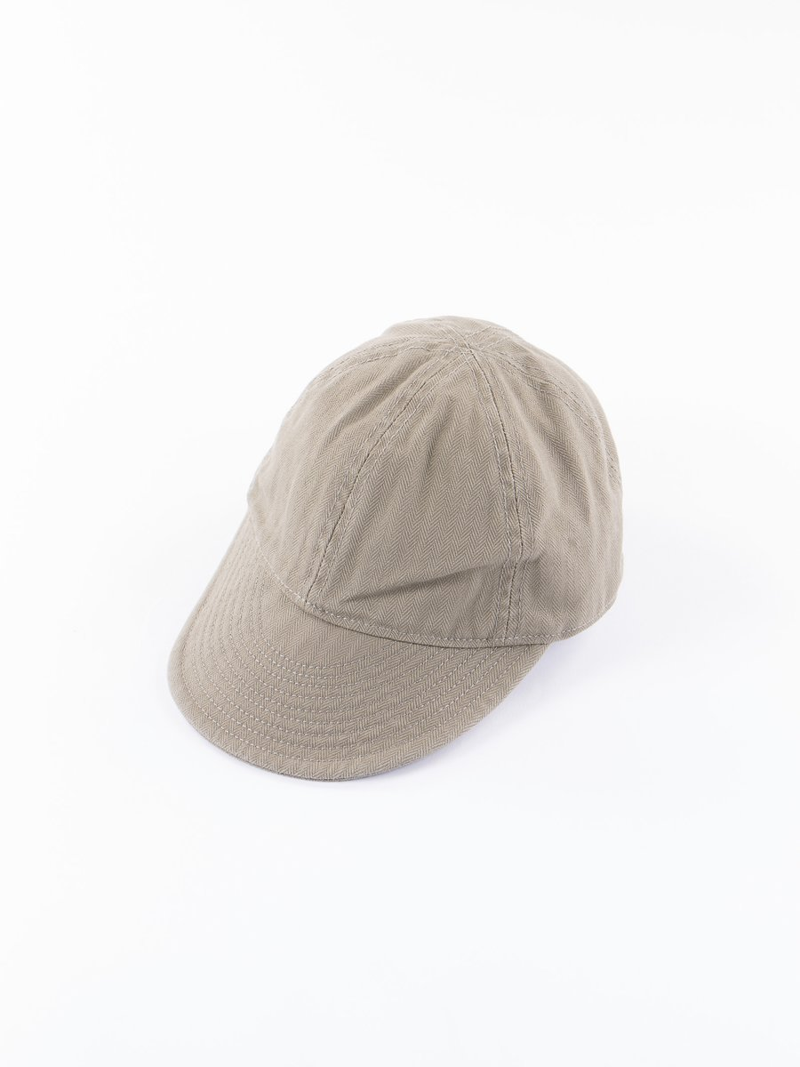 Lybro Nam Green Herringbone Mechanics Cap