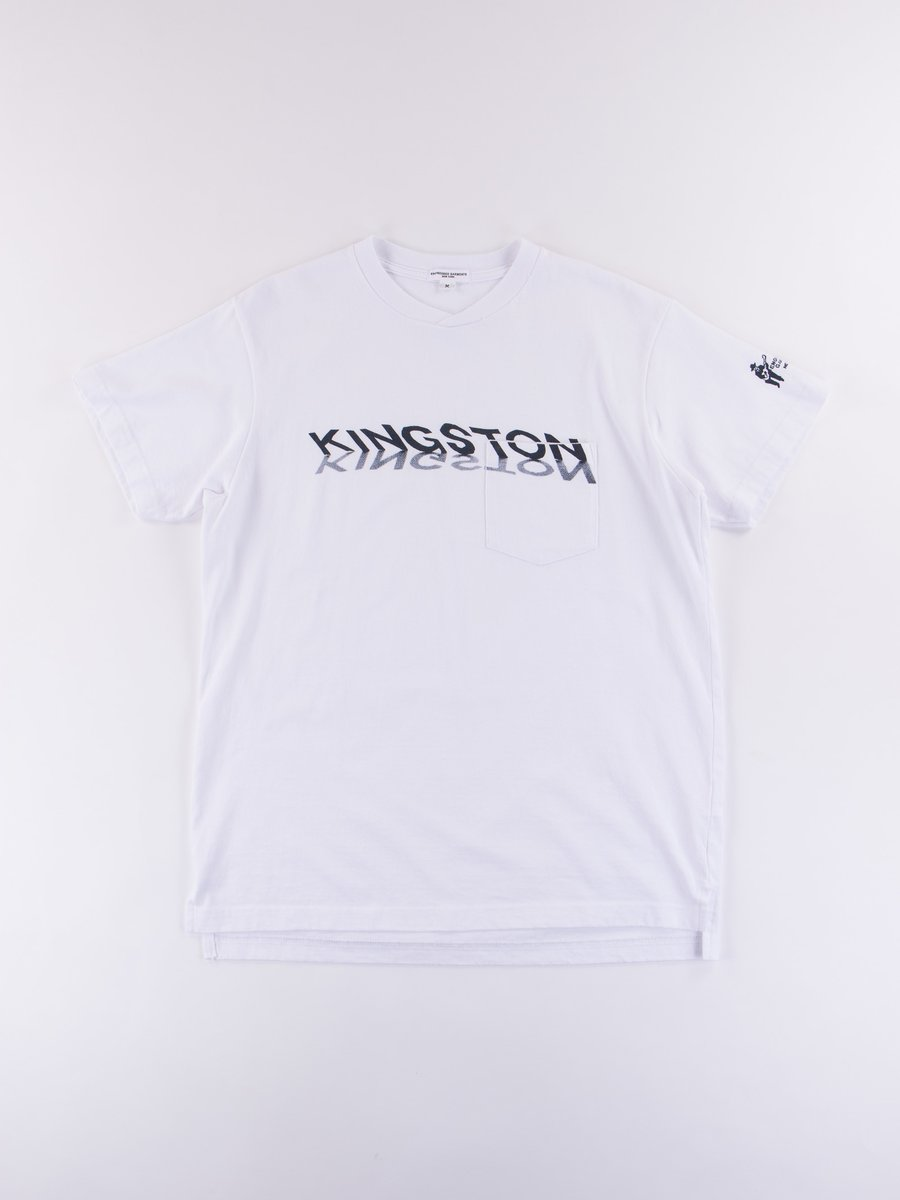White Kingston Printed T–Shirt