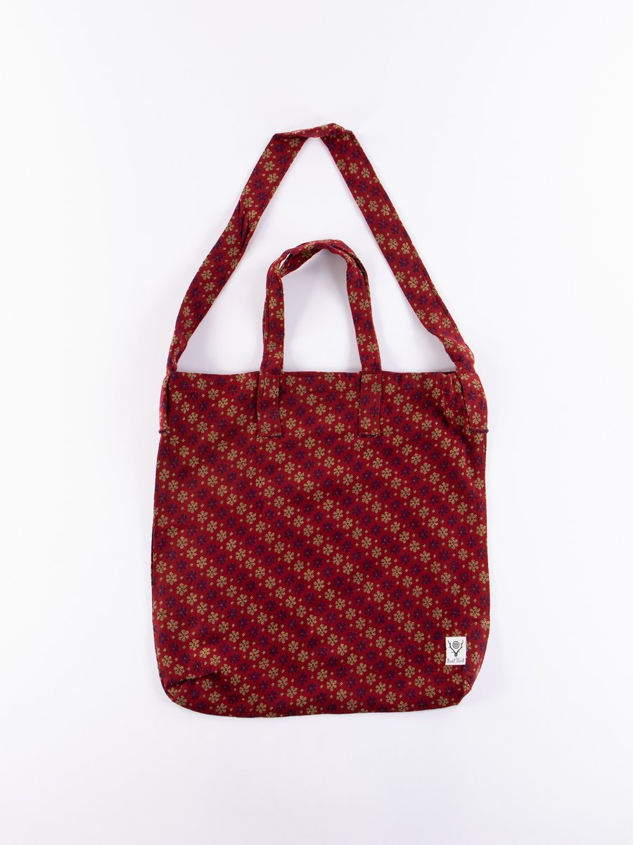 Flower India Jacquard Grocery Bag