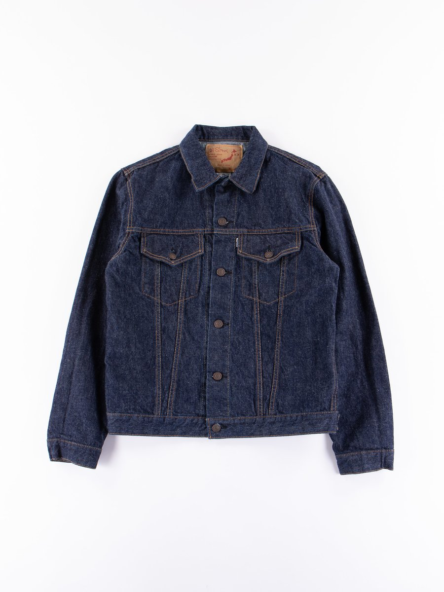 One Wash 60's Denim Jacket