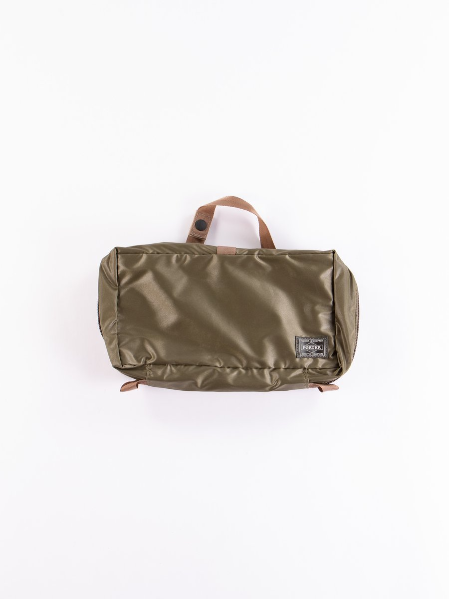 Olive Drab Snack Pack 09811 Cosme Pouch